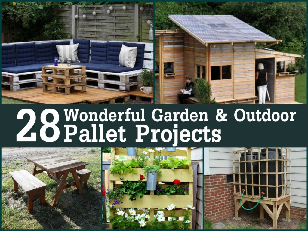 Other outdoor pallet projects abound as well, from deck furniture to ...