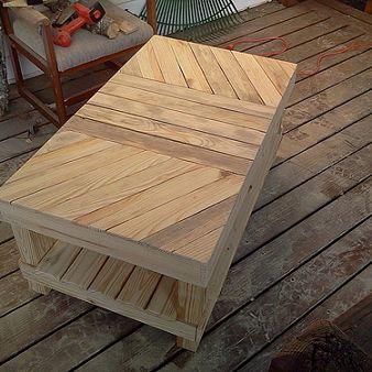 37 Amazing DIY Pallet Tables Page 5 Of Trendsandideascom