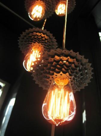 bike sprocket light pendants amazing lighting