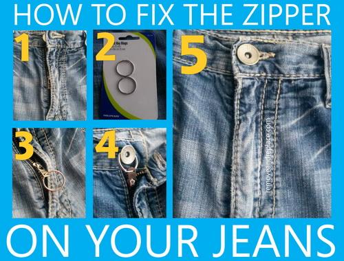 How to fix a broken zip