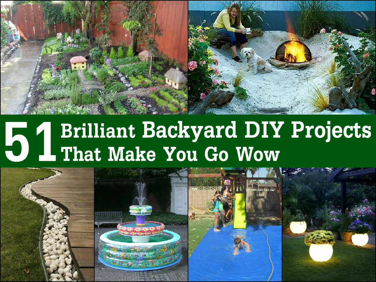 51 brilliant backyard diy projects that make you go wow