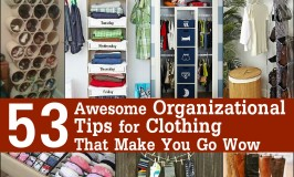 53 Awesome Organizational Tips for Clothing That Make You Go Wow