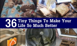 36 Tiny Things To Make Your Life So Much Better