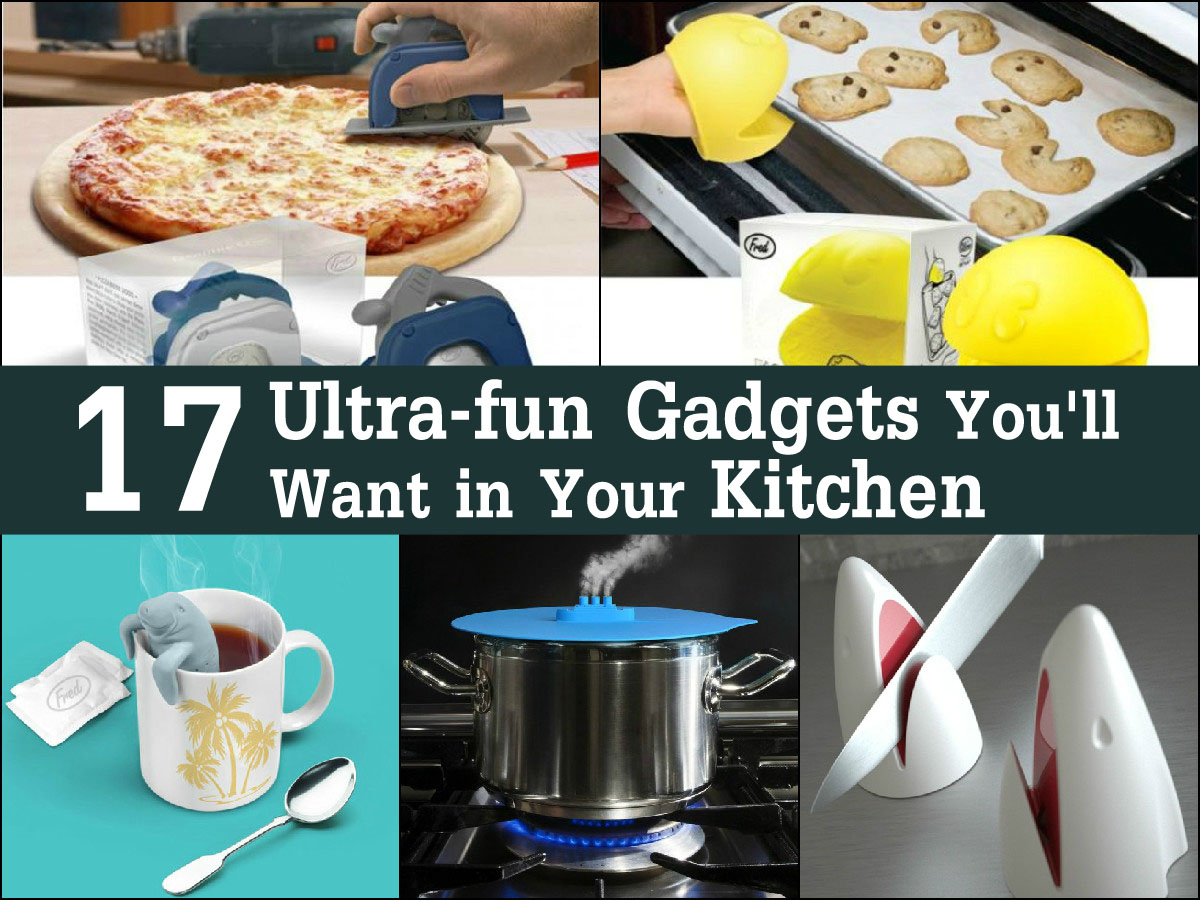 Fun Kitchen Gadgets Unique Of 17 Ultrafun Gadgets You'll Want in Your Kitchen  trendsandideas.com Picture